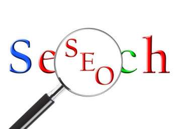 picture of the word SEO to illustrate search engine optimization