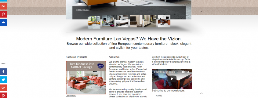vizion furniture