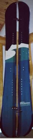Splitboard crosscountry skis