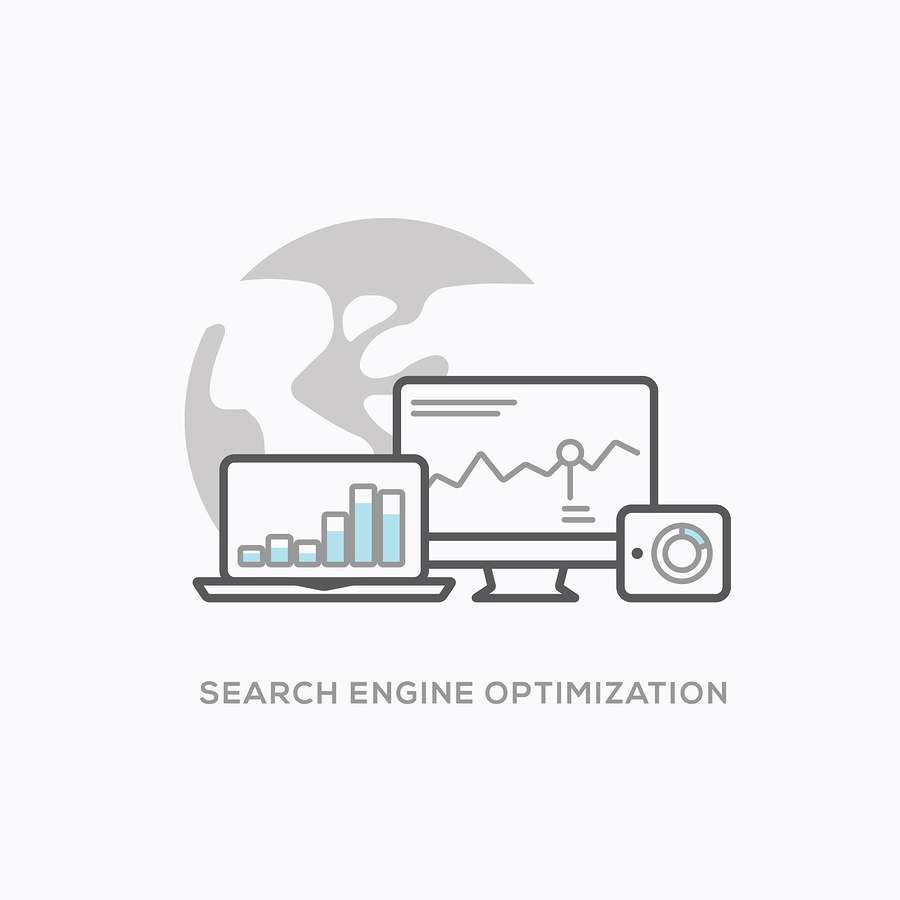 Search engine optimization illustration
