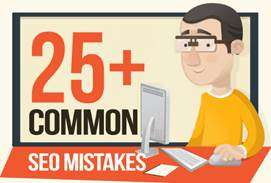 25 Common SEO Mistakes
