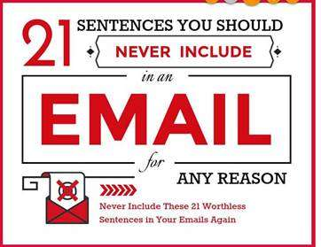 21 Things You Should Never Say in an Email