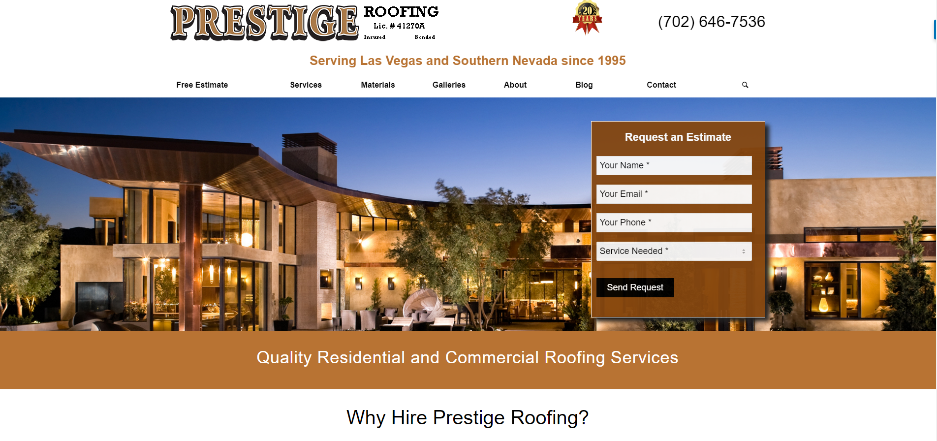 sc 1 st  Horizon Web Marketing & Prestige Roofing - Horizon Web Marketing memphite.com