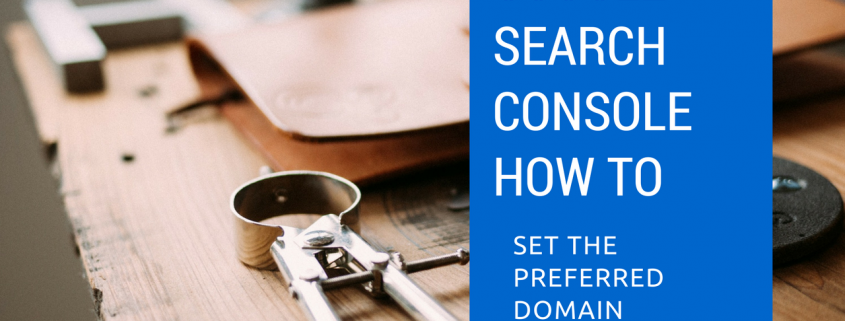 Video thumbnail How to Set the Preferred Domain in Google Search Console