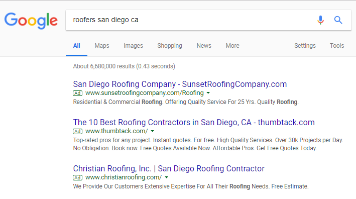 roofers san diego
