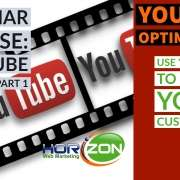 The thumbnail image for the YouTube SEO part one course